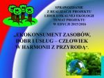 przedszkole_pod_topola_rumia Lider Lokalnej Ekologii 2015/2016