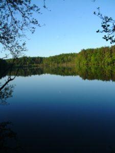 trójmiejski park krajobrazowy jezioro rezerwat