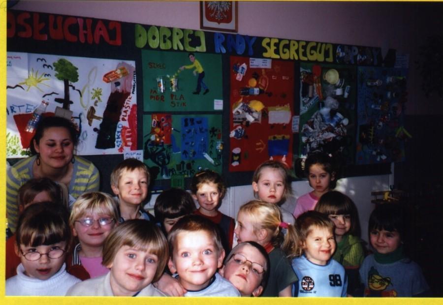Kącik Ekologiczny w jednym z przedszkoli.