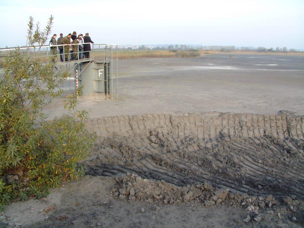 Składowisko żużla i popiołu w Rewie