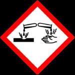 Odpady niebezpieczne - działanie żrące