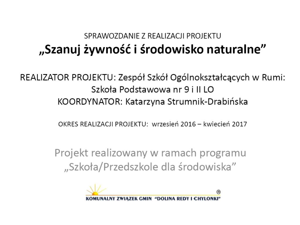 GR1_Katarzyna-Strumnik-Drabińska_Szanuj-żywność-i-środowisko-naturalne Ochrona środowiska w praktyce