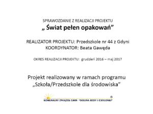 Beata-Gawęda_Świat-pełen-opakowań Ochrona środowiska w praktyce