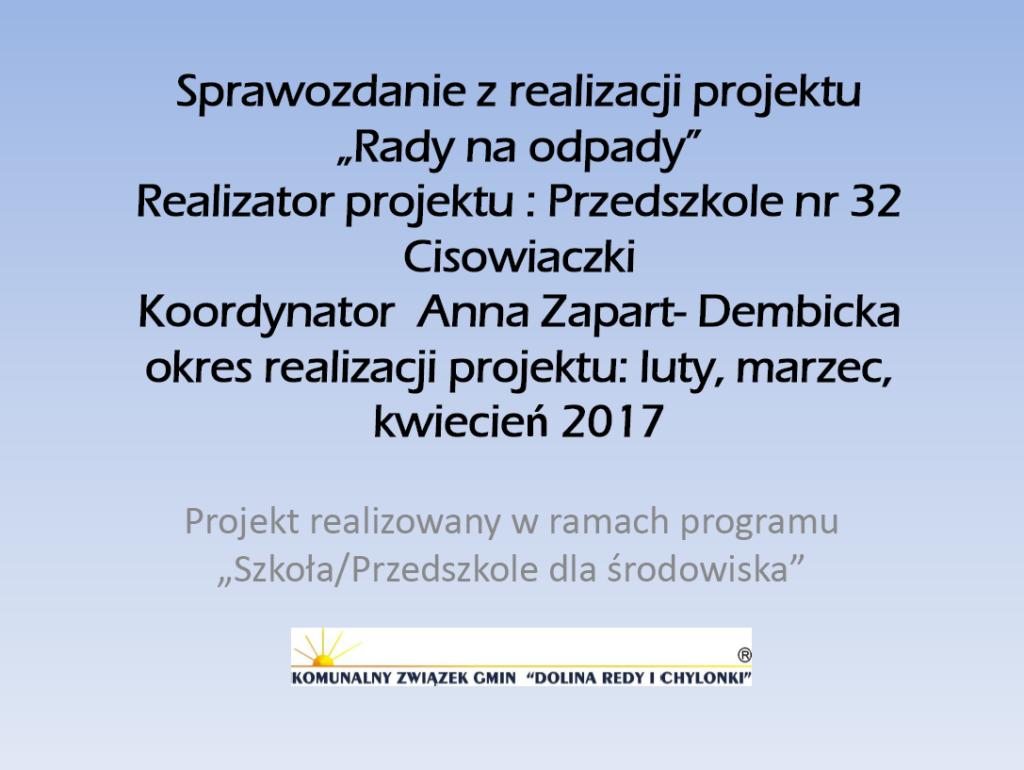 GR5_Anna-Zapart-Dembicka_Rady-na-odpady Ochrona środowiska w praktyce