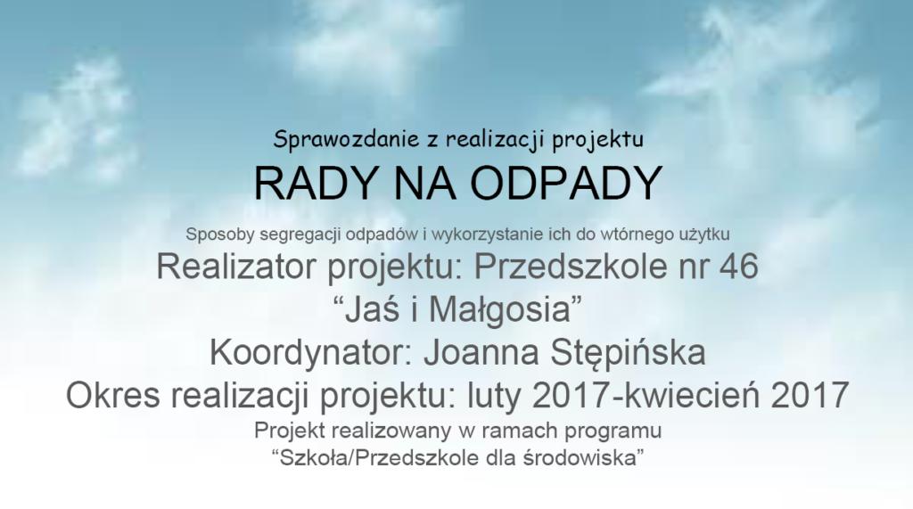 GR5_Joanna-Stępińska_Rady-na-odpady Ochrona środowiska w praktyce