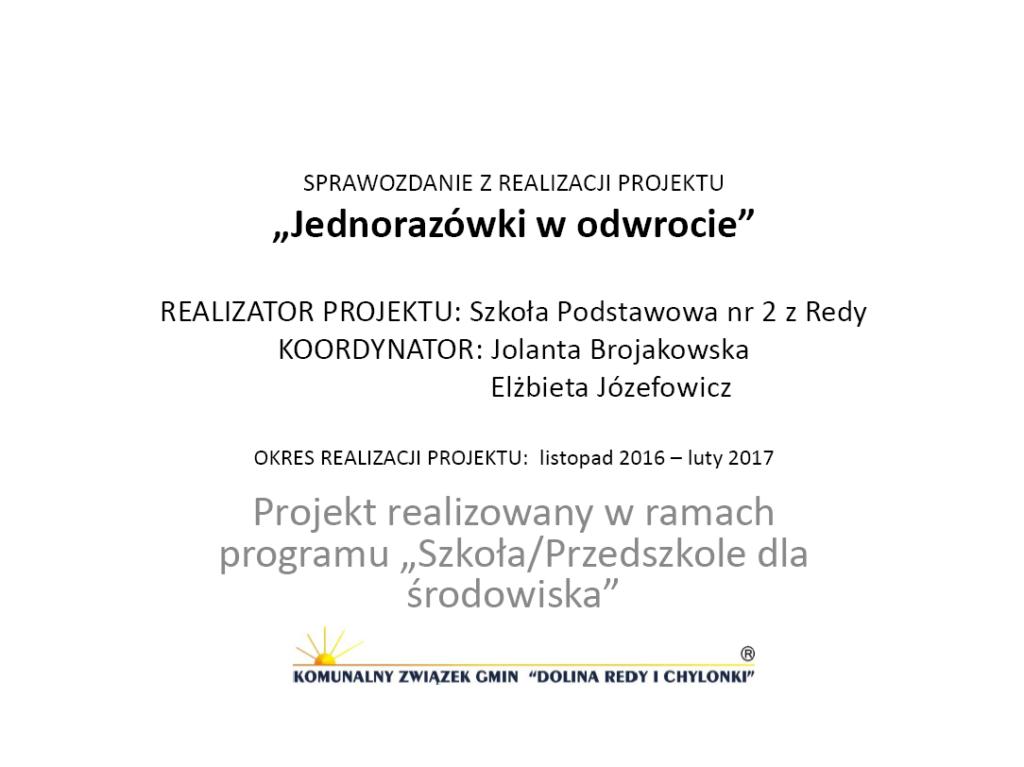 GR6_Jolanta-Brojakowska-i-Elżbieta-Józefowicz_Jednorazówki-w-odwrocie Ochrona środowiska w praktyce