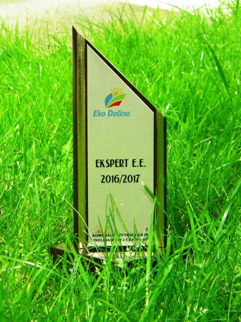 Ekspert E.E., czyli w trosce o środowisko Podsumowanie Edukacji Ekologicznej 2016/2017