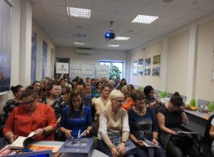 Uczestnicy spotkania w siedzibie KZG
